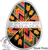 Canada: 2017 $20 Traditional Pysanka Silver Coin