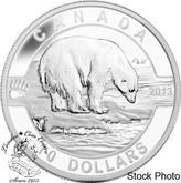 Canada: 2013 $10 The Polar Bear O Canada Series 1/2 oz Pure Silver Coin