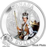 Canada: 2013 $50 Queen's Coronation 5 oz Coloured Silver Coin