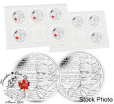 Canada: 2013 25 Cent de Salaberry Coin 10-Pack