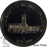 Canada: 1878 to 1978 University Of Western Ontario London Medallion