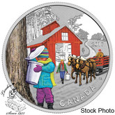 Canada: 2017 $10 The Sugar Shack Silver Coin