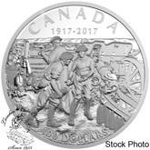 Canada: 2017 $100 Vimy Ridge Silver Coin