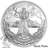 Canada: 2017 $1 150th Anniversary of Canadian Confederation Proof Silver Dollar