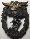 Germany: Luftwaffe Ground Assault Badge, by G.H. Osang