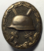 Germany: Imperial Wound Badge Marked 4