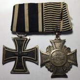 Germany: Iron Cross, Prussian Veterans Cross