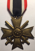 Germany: WWII (1939) War Merit Cross with Swords - Second Class (lot#2)