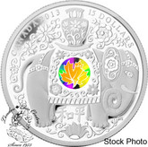 Canada: 2013 $15 Maple of Peace Hologram Pure Silver Coin