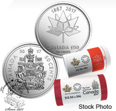 Canada: 2017 50 Cent Special Wrap Roll Pack Including 150th Anniversary Roll