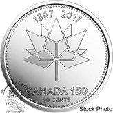 Canada: 2017 50 Cent 150th Anniversary Coin