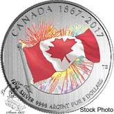 Canada: 2017 $5 Proudly Canadian Silver Coin