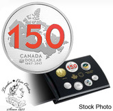 Canada: 2017 Limited Edition Silver Dollar Proof Set - Canada 150: Our Home and Native Land