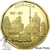Canada: 2017 $1 Connecting A Nation Proof Coin