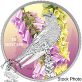 Canada: 2017 $10 Birds Among Nature's Colours: Purple Martin Silver Coin