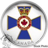 Canada: 2017 $20 Canadian Honours: 45th Anniversary of the Order of Military Merit Silver Coin