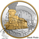 Canada: 2017 $20 Locomotive Across Canada The 4-4-0 Silver Coin