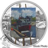 Canada: 2017 $20 En Plein Air: Maritime Memories Silver Coin