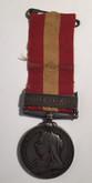 Canada: Fenian Raid Medal 1870 Sgt. A. Cornellier St. Melanie I. Co.