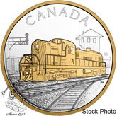 Canada: 2017 $20 Locomotives Across Canada: RS 20 Silver Coin