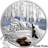 Canada: 2017 $20 Glistening North: Arctic Wolf - Pure Silver Coin