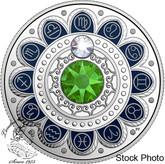 Canada: 2017 $3 Zodiac Series: Virgo Silver Coin