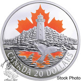 Canada: 2017 $20 Canada's Coast: Atlantic Coast - Pure Silver Coin