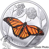 Canada: 2017 $50 Monarch Migration 3 oz. Silver Coin