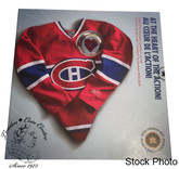 Canada 2009 Montreal Canadiens NHL Coin Set With $1 Coloured Jersey Coin