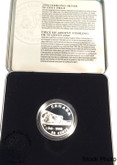 Canada: 2000 50 Cent Introduction of Curling to North America Sterling Silver Coin