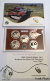 United States: 2016 America The Beautiful Proof Coin Set