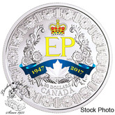 Canada: 2017 $20 A Platinum Celebration Silver Coin