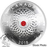 Canada: 2018 $25 Classic Holiday Ornament Pure Silver Coin