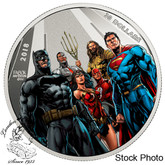 Canada: 2018 $30 The Justice League: The World's Greatest Super Heroes Pure Silver Coin
