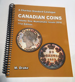 Charlton Standard Catalogue of Canadian Coins Volume One 2018, 71st Edition