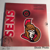 Canada 2008 Ottawa Senators NHL Coin Set With $1 Coloured Coin