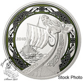 Canada: 2018 $20 Norse Figureheads: Northern Fury Fine Silver Coin