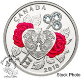 Canada: 2018 $3 Celebration of Love Fine Silver Coin