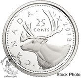 Canada: 2018 25 Cents Proof Pure Silver Coin