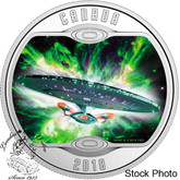 Canada: 2018 $10 Star Trek™: The Next Generation - Pure Silver Coloured Coin