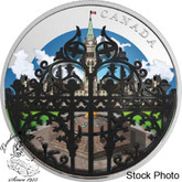 Canada: 2018 $30 The Queen's Gate: Formal Entrance to Parliament Hill - 2 oz. Pure Silver Coin
