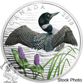 Canada: 2018 $10 Common Loon: Beauty and Grace Fine Silver Coin