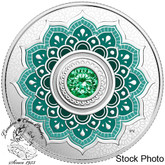 Canada: 2018 $5 Birthstones: May Fine Silver Coin