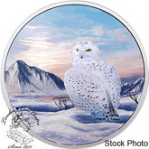 Canada: 2018 $30 Arctic Animals: Snowy Owl 2 oz. Silver Glow-in-the-Dark Coin
