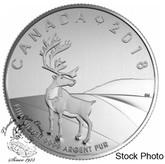 Canada: 2018 $3 Caribou Fine Silver Coin