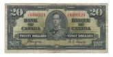 Canada: 1937 $20 Bank Of Canada J/E 4390121