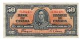 Canada: 1937 $50 Bank Of Canada B/H 4362429