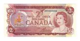 Canada: 1974 $2 Bank Of Canada BM5453606