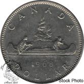Canada: 1968 $1 No Island MS62