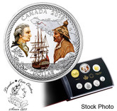 Canada: 2018 Special Edition Silver Dollar Proof Set: 240th Anniversary of Captain Cook at Nootka Sound